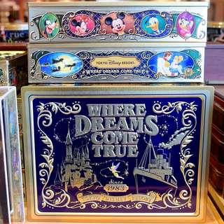 海洋迪士尼 人物餅乾禮盒