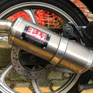 Yoshimura Tri-Oval With Cert