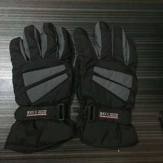 🚚 防水防風鋪棉手套