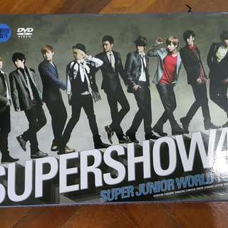 Supershow 4 official dvd