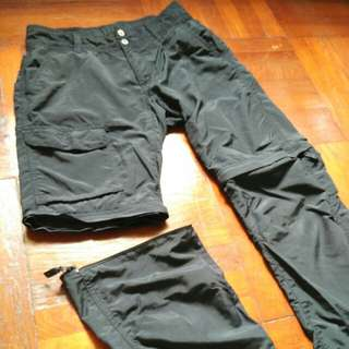 Columbia convertible hiking trekking pants