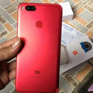 Xiaomi Mi 5X Red Kembaran Mi A1 Fulset 4/64GB Garansi Nov 2018