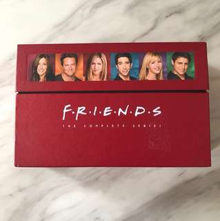 Friends DVD the complete series 10 seasons