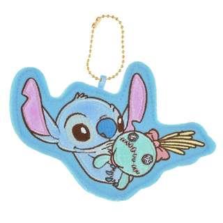 日本 Disney Store 直送Stitch 史迪仔不織布襟章掛飾匙扣