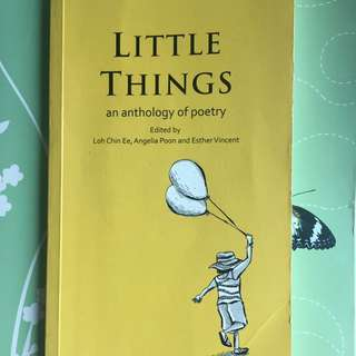 Little Things Poetry Anthology