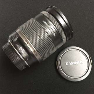 Canon lens 18-200 is