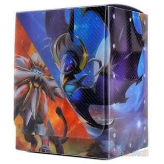 Solgaleo Lunala Sun & Moon Pokemon Card TCG Deck Case Box