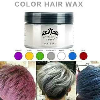 Japan washable colour hair wax