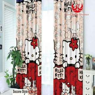 5D Korean Curtain Cotton