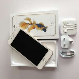 apple iphone6s 128gb 金色 fullset
