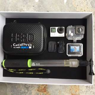 GoPro Hero 4 Silver +accessories