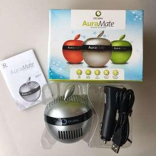 OGAWA Aura Mate - Personal Air Purifier in silver BNIB Mini car or home USB air purifier