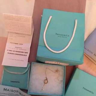 Tiffany & Co Necklace  all set with receipt @ Chengdu