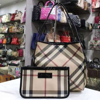 Burberry Small Canterbury Nova Check Tote