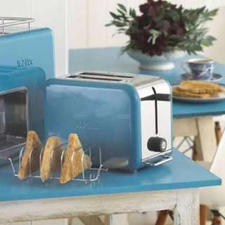 Kenwood KMix Toaster- Bold Blue New Condition