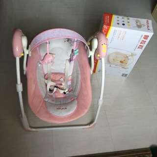 Hulala auto baby swing