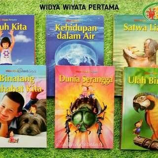 Buku ensiklopedia anak Widya wiyata pertama