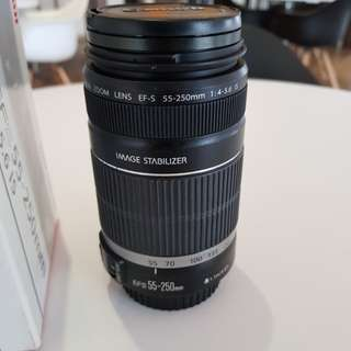 Canon image stabilizer EFS55-250mm