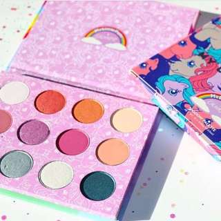 (INSTOCK) COLOURPOP MY LITTLE PONY COLLECTION MLP EYESHADOW PALETTE