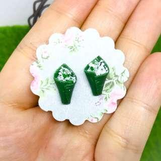 Miniature Ondeh Ondeh Earrings