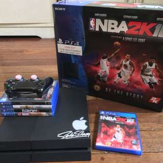 Ps4 Nba 2k16 bundle (500gb)
