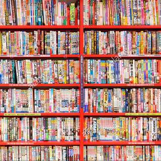 English Manga Comic Books