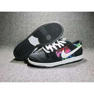耐克Nike 黑煙花紮染 運動滑板鞋 閒運動慢跑鞋 輕便透氣跑步鞋 時尚百搭運動鞋 舒適耐磨情侶鞋