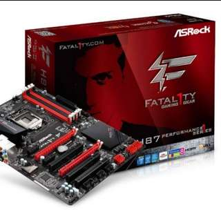 ASRock H87 Fatal1ty Performance Gaming Motherboard
