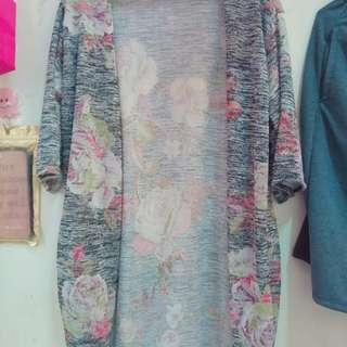 Women trendy tops and cardigan