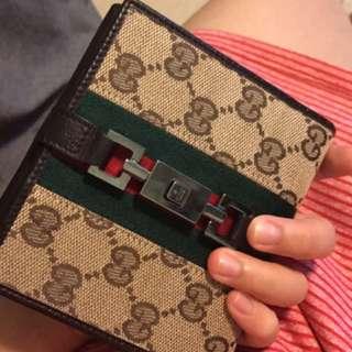 Gucci女裝銀包