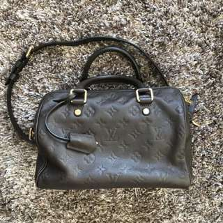 Authentic LV leather bag