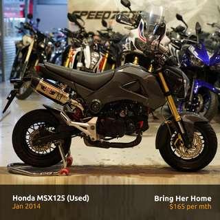 Honda MSX125 (Used 2014)
