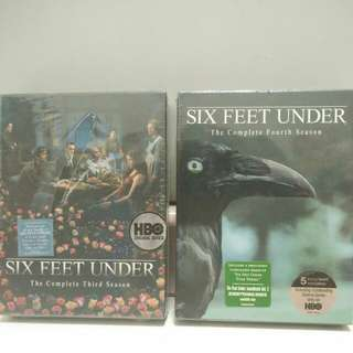 [BRAND NEW] Six Feet Under 3rd and 4th seasons DVD