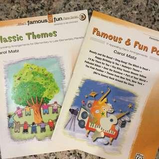 Piano books- Carol Matz ( Elementary, Grade 1)