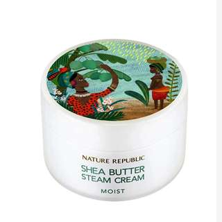 Shea Butter Steam Cream - Moist