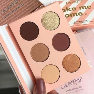 (INSTOCK) COLOURPOP TAKE ME HOME MINI EYESHADOW PALETTE
