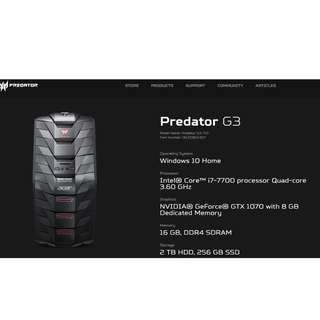 Predator G3-710