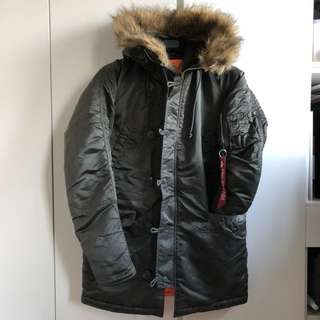 Alpha industries N3B N-3B 軍 98% new