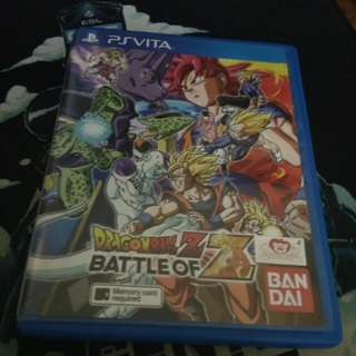 Dragon Ball Z Battle of Z Vita