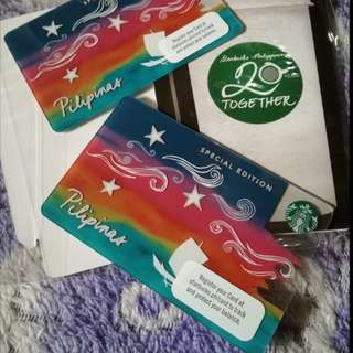 Starbucks Vinta Card