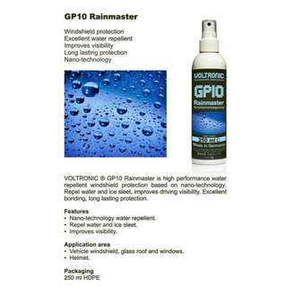 VOLTRONIC Windshield Repellent Rainmaster 250ml - MADE IN GERMANY