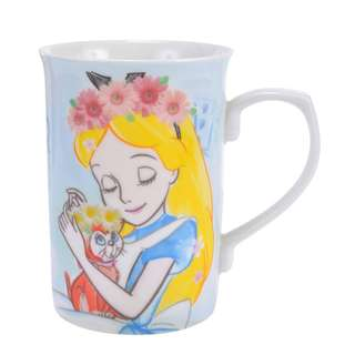 日本 Disney Store 直送 Alice in the Wonderland 花花系列陶瓷杯