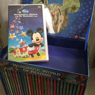 Disney Wonderful World of Reading (28 English books+CDs)