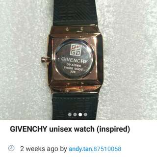 Givenchy watch rose gold