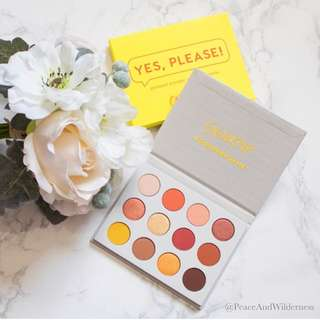 (INSTOCK) COLOURPOP MOST POPULAR YES PLEASE EYESHADOW PALETTE