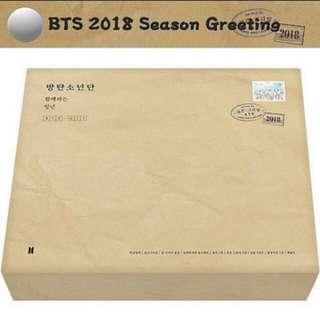 BTS SEASONS GREETINGS 2018