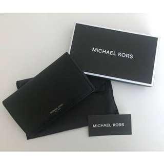 MICHAEL KORS 39F6LGFL2L HARRISON LEATHER SMARTPHONE WALLET