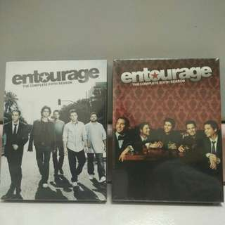 [BRAND NEW] Entourage 5th and 6th Season DVD