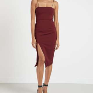 BNWT Peppermayo Red Dress S8