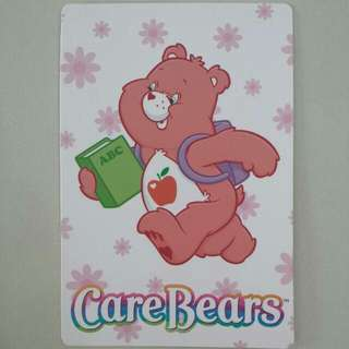 BLESS📬Brand New Authentic Smart Heart Bear Care Bears Postcard / Greeting Card